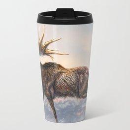 Megaloceros Giganteus Restored Travel Mug