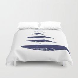 Whale Art - Narwhal / Beluga / Killer Whale Orca / Humpback / Sperm / Blue Duvet Cover