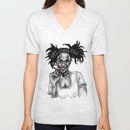Ms. Lauryn Hill Unisex V-Neck