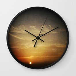 Above Everything Else Be Yourself Wall Clock