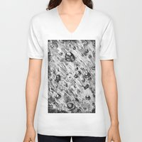 river V-neck T-shirts featuring River by Nuanc3d
