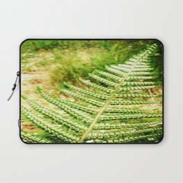 Green Fern Laptop Sleeve