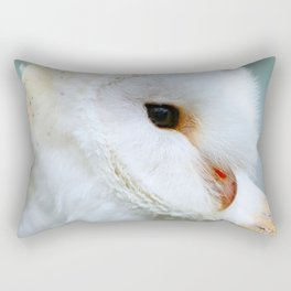 Beautiful barn owl Rectangular Pillow