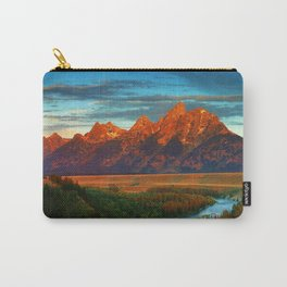 Grand Tetons - Jackson Hole, Wyoming in Autumn Carry-All Pouch