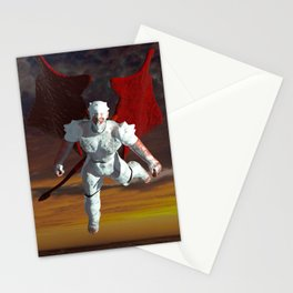 White Soldier Stationery Cards
