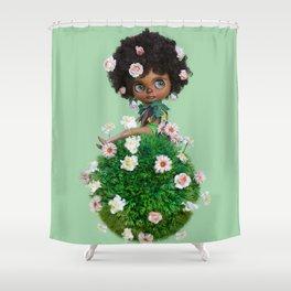 MY WORLD BY ERREGIRO Shower Curtain