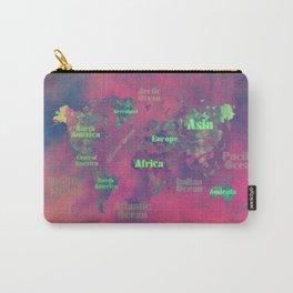 world map 116 #worldmap #map Carry-All Pouch