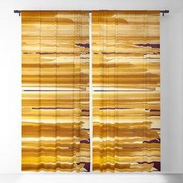 Sundried stripes Blackout Curtain