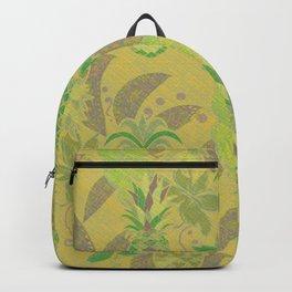 Golden Hawiian Pineapples Backpack