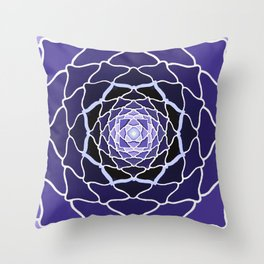 Sacred Lotus Throw Pillow