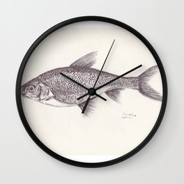 BALLPEN FISH 9 Wall Clock