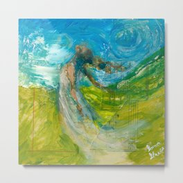 Embrace the Winds Metal Print