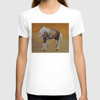 pony T-shirts featuring Gypsy Pony by Michael Creese