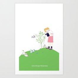 Love Always Perseveres Art Print