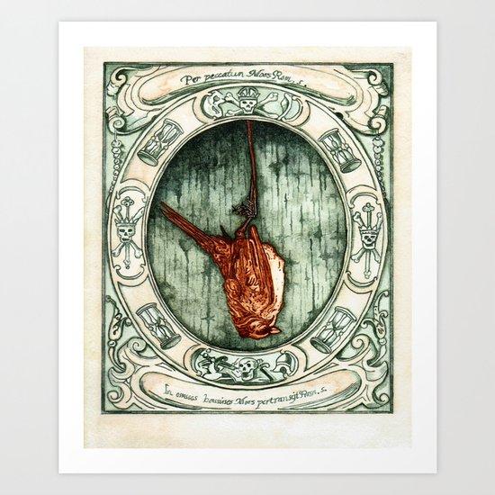 momento mori  Art Print