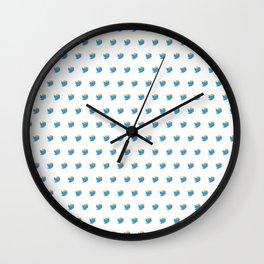 Twump Pattern - Day Mode Wall Clock