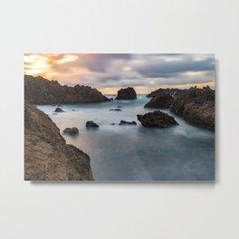 Long Exposure Landscape Metal Print