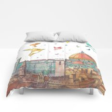 Colors of Florence Comforters