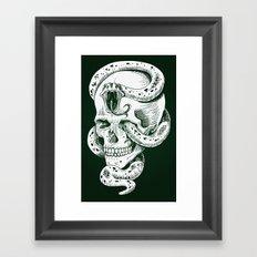 Dark Mark Framed Art Print