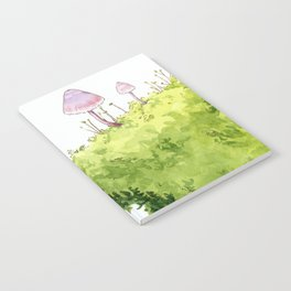 Mushrooms and Moss Notebook
