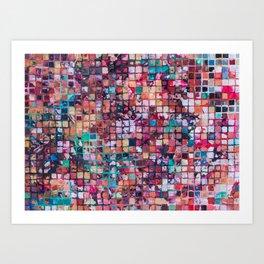 Grid I Art Print