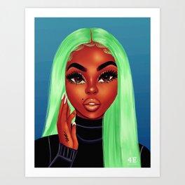 Pomme Verte Art Print