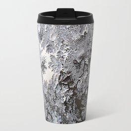 Frosty Glass Abstract Travel Mug
