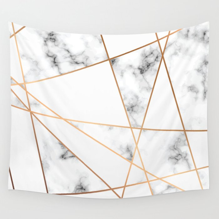 Marble Geometry 054 Wall Tapestry
