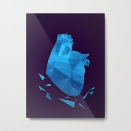 My fractured heart Metal Print
