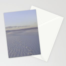 Road Trip Views - White Sands, New Mexico Stationery Cards