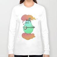 banjo Long Sleeve T-shirts featuring banjo by Ashton Dame
