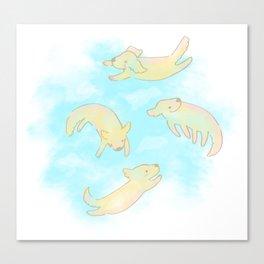 GoldAngels Canvas Print