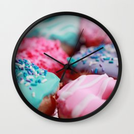 donuts #society6 #decor #buyart Wall Clock