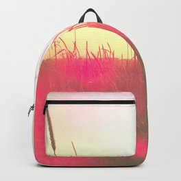 Will You Stay With Me, Will You Be My Love Among the fields of barley Backpack