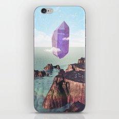 Purple trance iPhone & iPod Skin