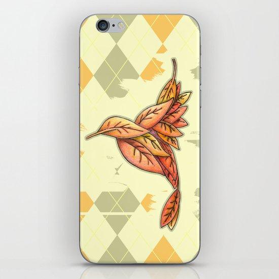 I Carried You Into November iPhone & iPod Skin