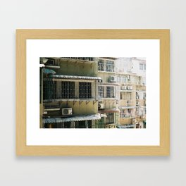 Macao Windows Framed Art Print
