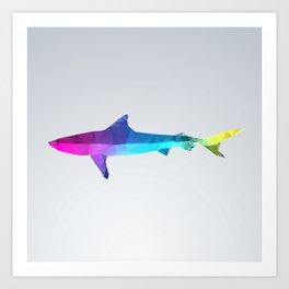 Glass Animal Series - Shark Art Print
