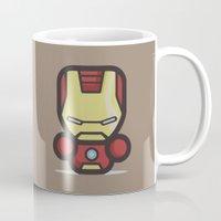 ironman Mugs featuring Ironman by MaNia Creations