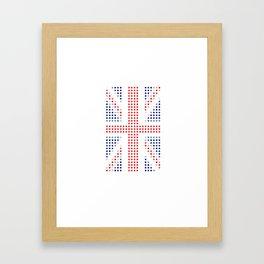 UK Flag Framed Art Print