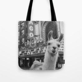 Chicago Llama Tote Bag