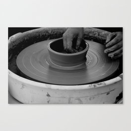 The beauty of handwork Canvas Print