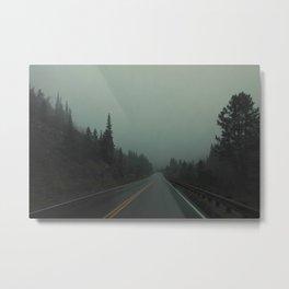 The Road Less Traveled Metal Print