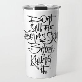 BEARSKIN Travel Mug