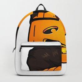 kim jong pumpkins Backpack