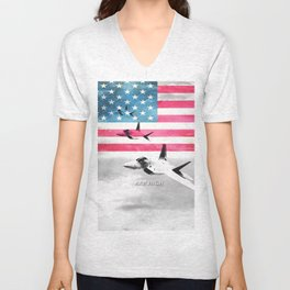 United States Air Force(USAF) Unisex V-Neck
