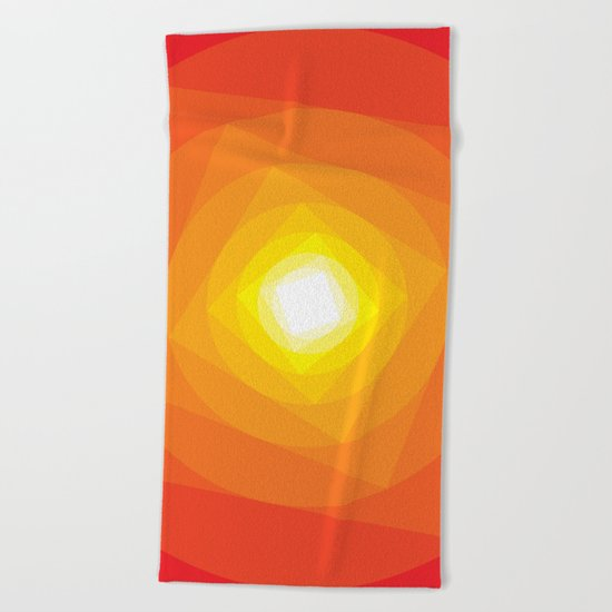 Gradient Sun Beach Towel