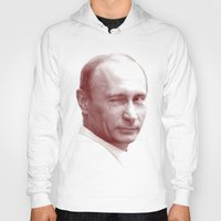putin Hoodies featuring Putin by MartiniWithATwist