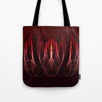 math Tote Bags featuring Invisible Math by Rabassa