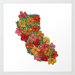 California Flourish Art Print